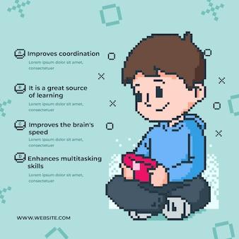 Преимущества воспроизведения видеоигр по шаблону