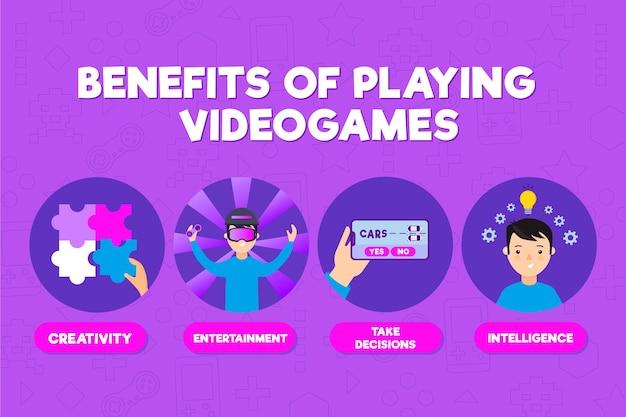 ビデオゲームをする利点