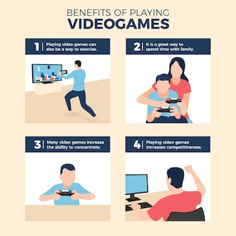 Benefits of playing videogames
