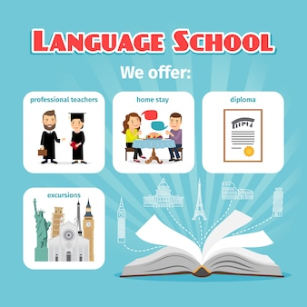 Benefits of studying in language school abroad
