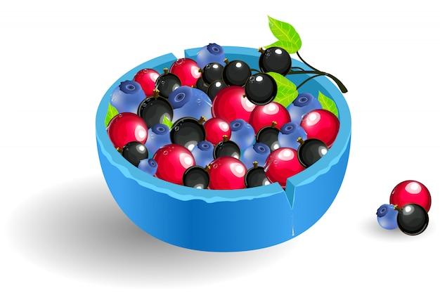 Изолированные ягоды