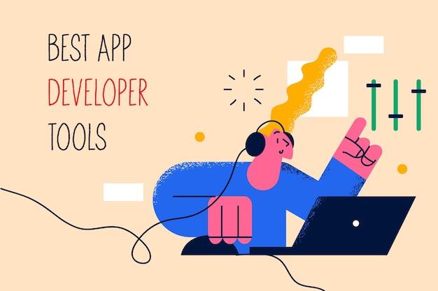 Концепция лучших инструментов для разработчиков приложений