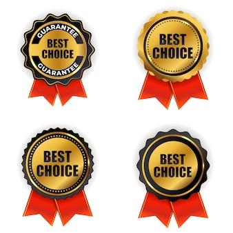 Лучший выбор золотой знак качества