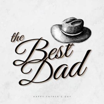 Migliore papà card