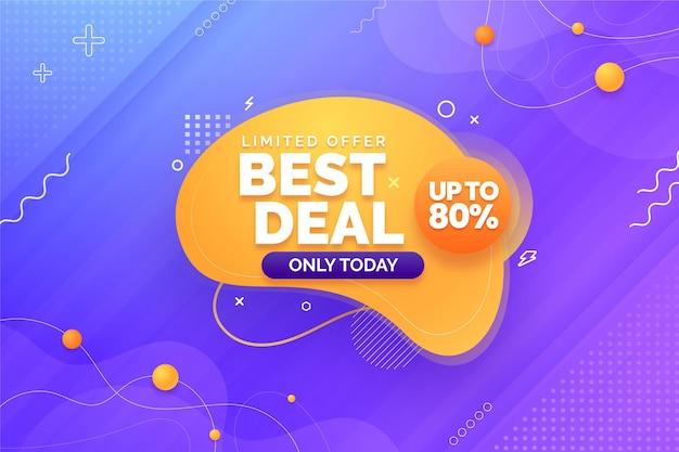 Best deal horizontal banner
