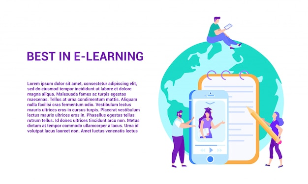 Best in e-learning. distance learning