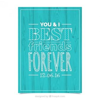 Лучшие друзья навсегда, плакат