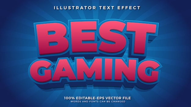 Best gaming editable text effect