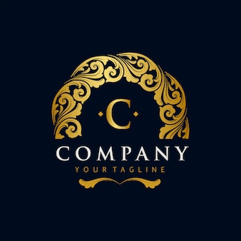 Best gold logos company ornaments luxury