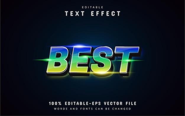 Best gradient text effect