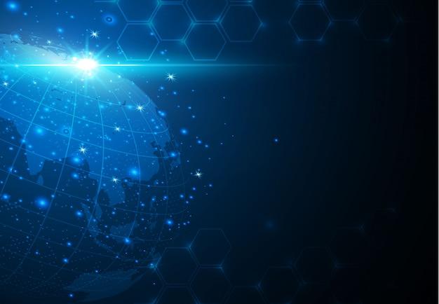 概念シリーズからグローバルビジネスの最高のインターネットの概念。