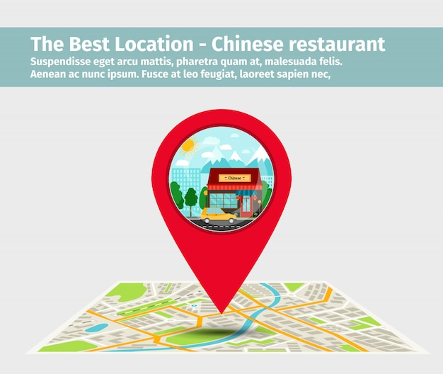 The best location chinese restaurant