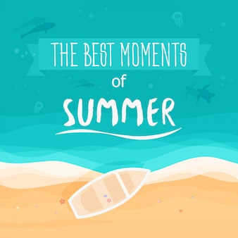 The best moments of summer poster