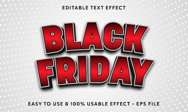 Best offer editable text effect