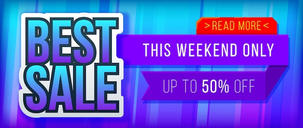 Best sale banner for website sale and discounts banner