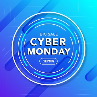 Best sale cyber monday banner