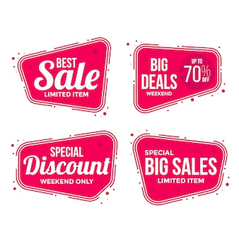 Best Sale labels tags collection