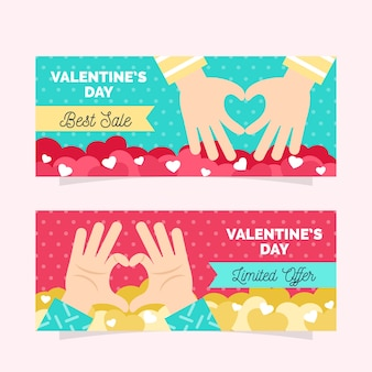 Best sales valentine's day sale banners