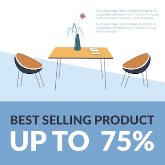 Best selling product up to  percent promotion