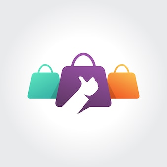 Best shopping symbol design  thumb up concept