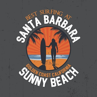 Лучший плакат о серфинге