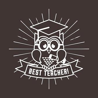 Best teacher  design