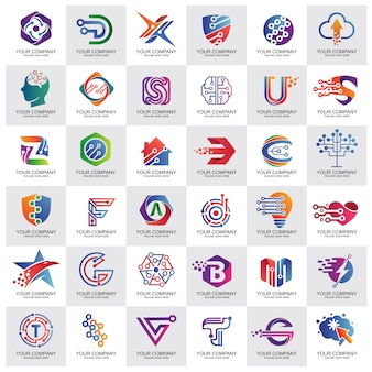 Best technology logo collection