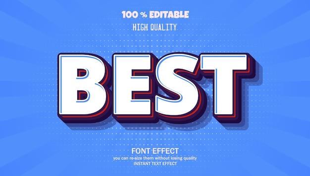 Best text effect. editable font