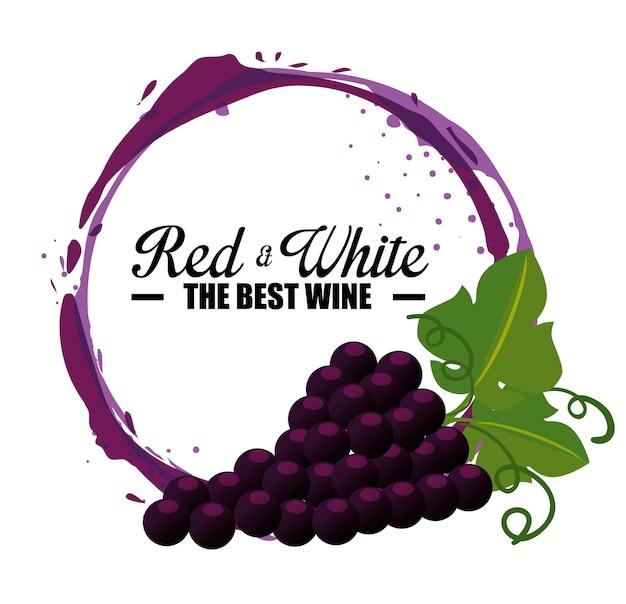 Этикетка с лучшим виноградарством