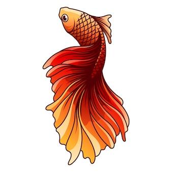 Бетта рыбы векторные иллюстрации