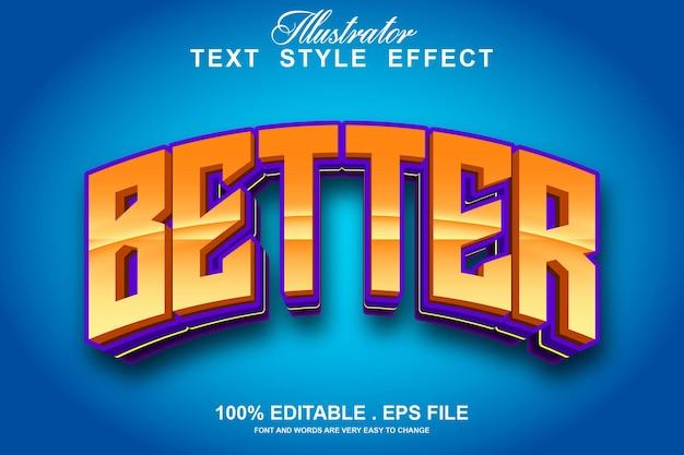 Лучший текстовый эффект редактируемый
