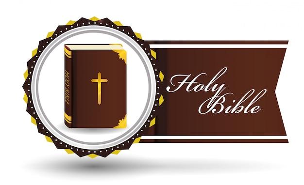 Bible icon design