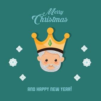 聖書のクリスマス関連のアイコンイメージ
