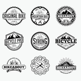 Логотип велосипедных значков