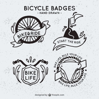 Bicycle badges