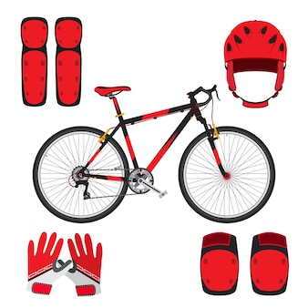 Bicycle, bike or skateboarding equipment
