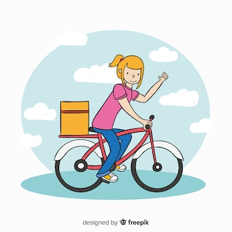 Bicycle delivery concept