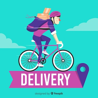 Bicycle delivery