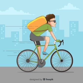 자전거 배달