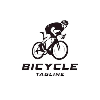 Bicycle event logo concept
