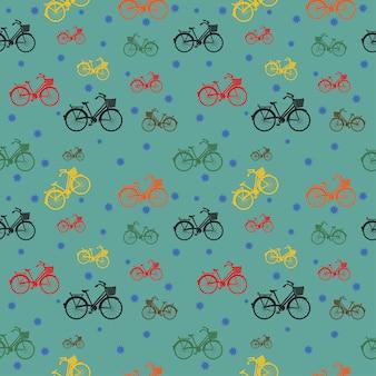 자전거 원활한 패턴