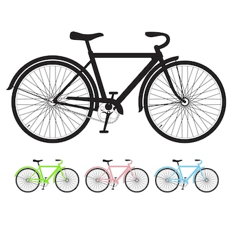 Силуэт велосипеда