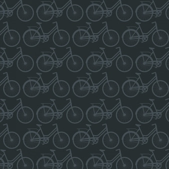 Bicycle sport pattern background