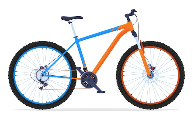 Bicycle for travel on difficult terrain