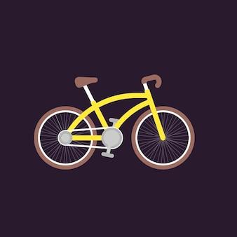 自転車のベクトル図
