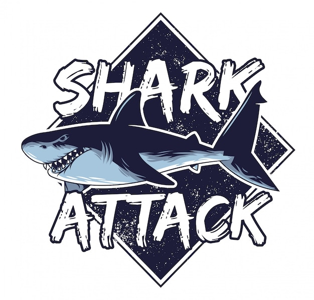 大きな怒っている空腹の危険なサメ攻撃動物深海海カリフォルニアハワイで捕食魚