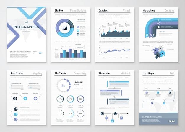 情報要素とビジネスパンフレットの大量収集