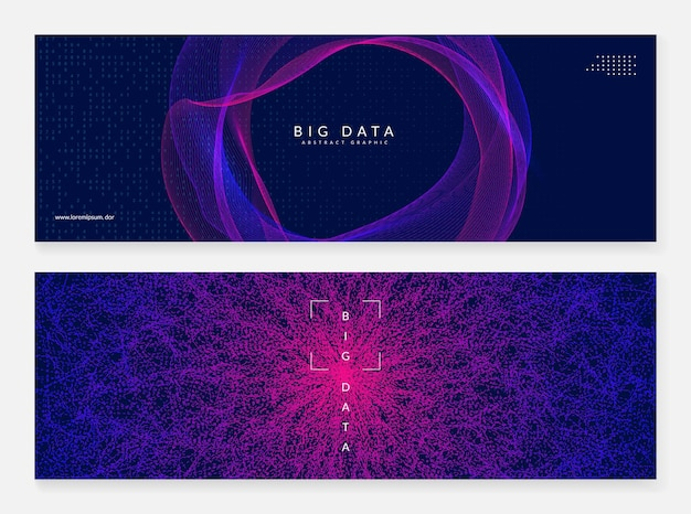Big data abstract. digital technology background. artificial intelligence and deep learning concept. tech visual for science template. modern big data abstract backdrop.