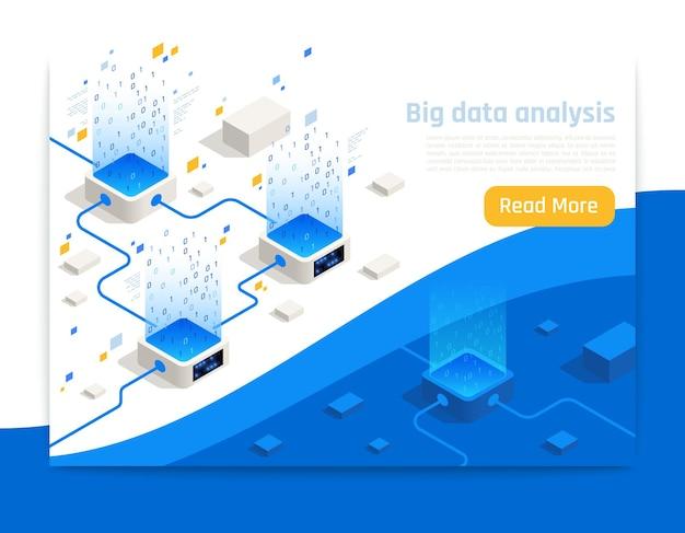 Big data analysis banner