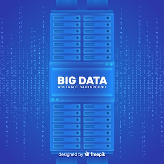 Big data background in abstract style design